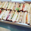 Assorted ribbon sandwiches (1.5 pp) (H)