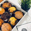 Assorted muffins
