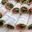 Turkish Wrap Platter (10 pcs)