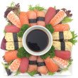 Gourmet Sushi Platter (60 pcs)