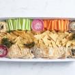 Dips & crudites platter (pp)
