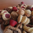 Assorted biscuits platter