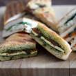 Toasted Focaccia & Turkish bread