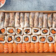 Sushi & Rice Paper Roll Box  (64 pcs)