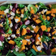 Beetroot Pumpkin Feta salad