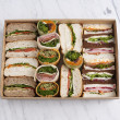 Assorted Gourmet sandwiches (1pp)