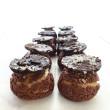 Hazelnut Mini Choux Pastry