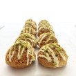 Pistachio Mini Choux Pastry