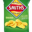 Smiths Crinkle Chicken Chips 170g