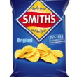 Smiths Crinkle Original Plain Chips 170g