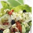 Traditional Greek Salad (10 pax) (DF) (H)