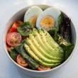 Breakfast salad bowls