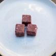 Raw power cube - Raspberries