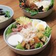 Gourmet chicken caesar salad