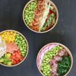 Poke bowl - Salmon & brown rice