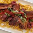 Szechuan pork belly