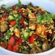 Pearl Cous Cous & Eggplant Salad