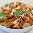 Harissa Roasted Carrot Salad