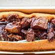 Sweet pork roll