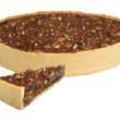 Choc Pecan Caramel Pie (28cm)