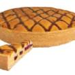 Strawberry Almond Shortbread (28cm)