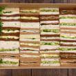 High tea sandwiches (Box of 36)