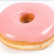 Pink Ribbon Day doughnuts