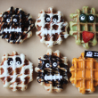 Monster & Zombie waffle box