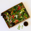 Raw energy garden salad