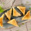 Spinach & feta filo pastry