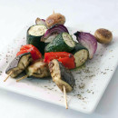 Char grilled Vegetable Skewers