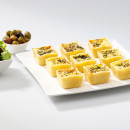 10 Mini savoury tartlets