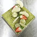 Matcha Green Tea & Roasted Black Sesame Cake