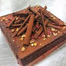 Vegan Mocha Hazelnut Cake