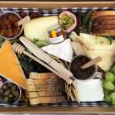 Premium cheese and fruit platter