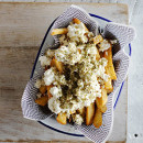 Yia Yia's Chips with feta