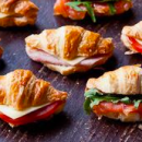 Savoury croissant selection (16)