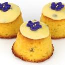 Petite passionfruit cake