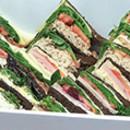 Assorted sandwich platter (1.5 pp)