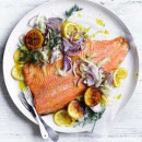 Poached ocean trout (10-15 pax) (DF)