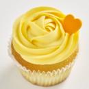 Orange & mango cupcake