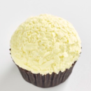 White chocolate Tim Tam cupcake
