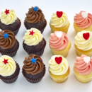 Assorted mini cupcakes (12 pcs)