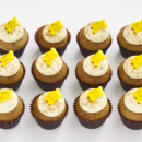Banana mini cupcakes (12 pcs)