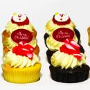 Christmas cupcake gift box (12 pcs)