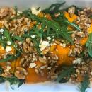 Pumpkin & feta salad