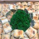 Mini spinach & ricotta roll