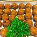 Mini risotto ball