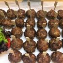 Homemade spicy meatballs