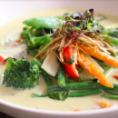 Green curry - platter